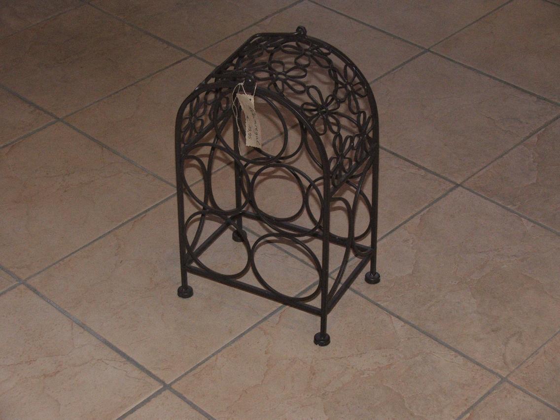 weinflaschenhalter nostalgiepur. Black Bedroom Furniture Sets. Home Design Ideas